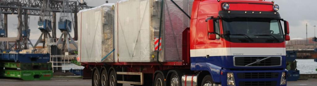 speciaal transport truck