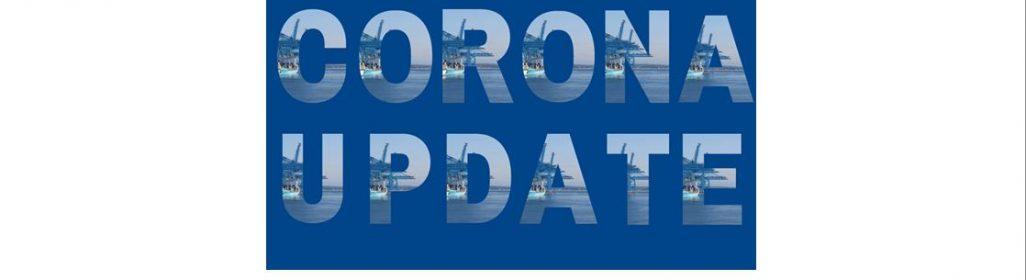 Corona update website
